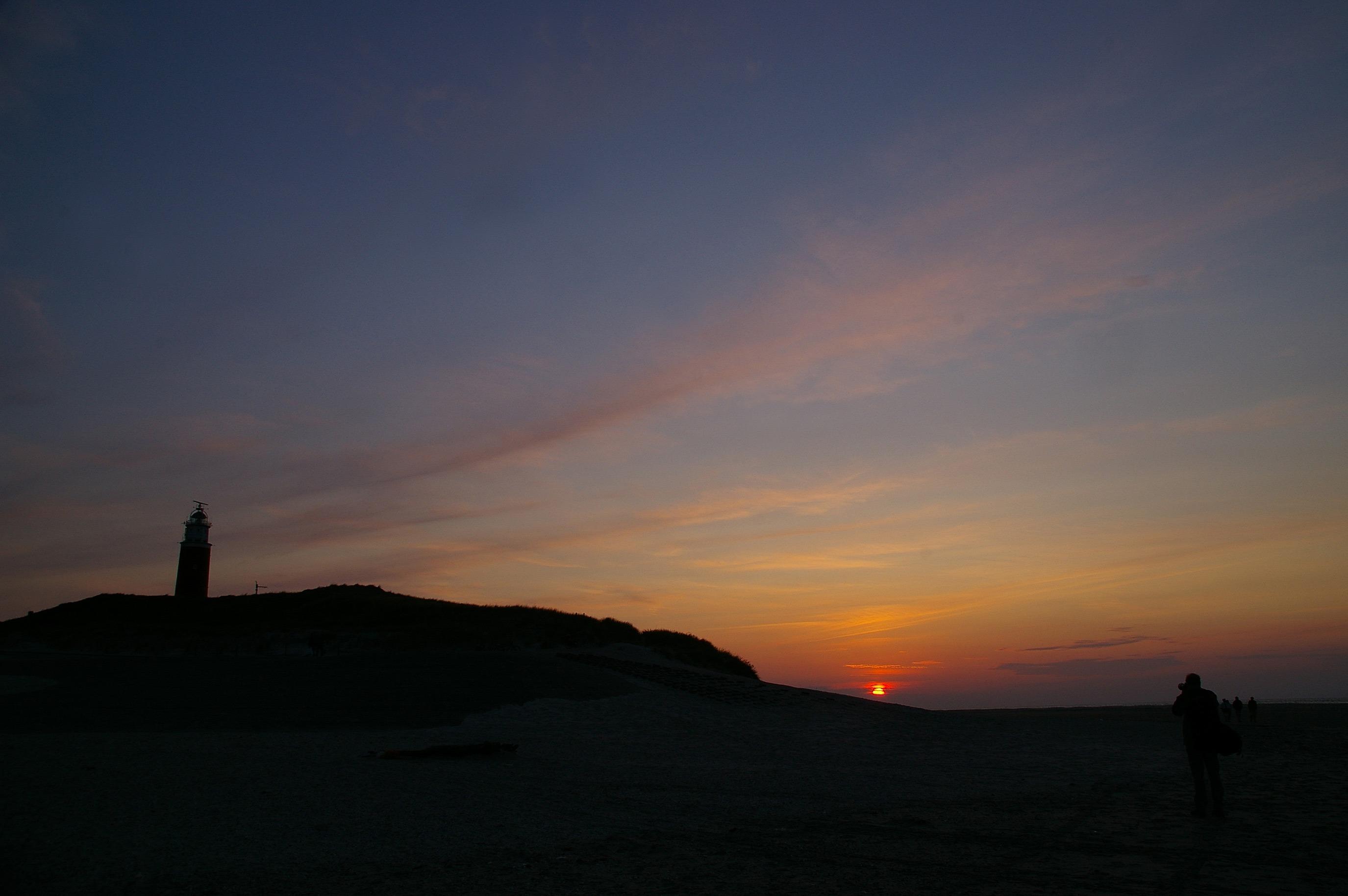 Vuurtoren Texel, avond