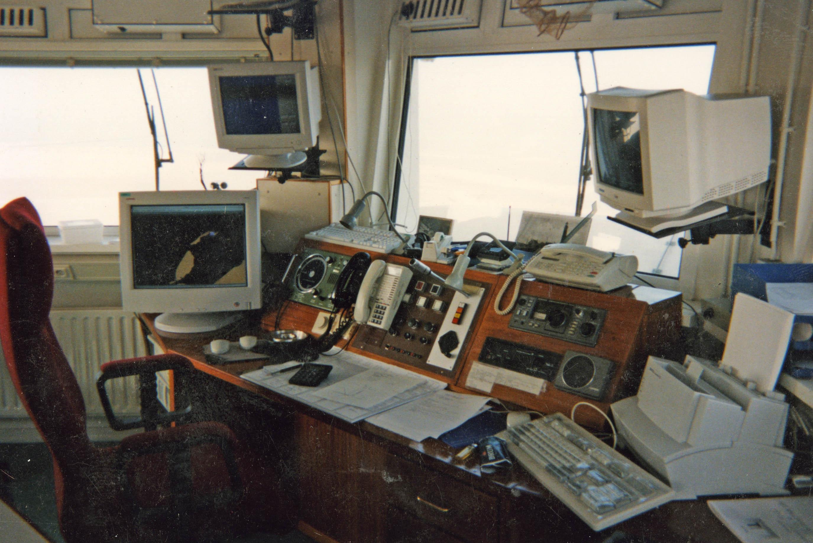 Wachtruimte Vuurtoren Texel, jaren \'90 - Vuurtoren Texel